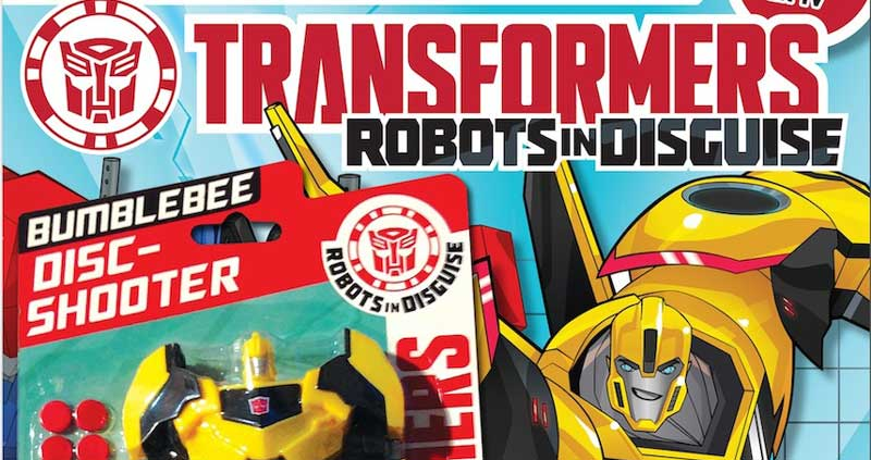 Transformers: Robots in Disguise Issue 1 - Cover SNIP