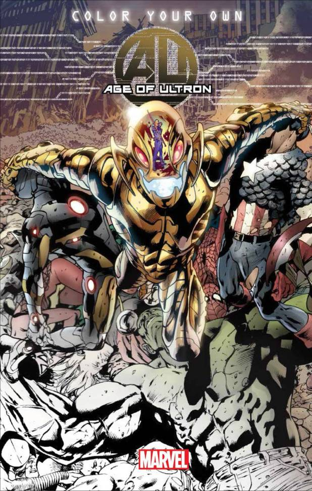 Colour Your Own Age Of Ultron Trade Paperback
