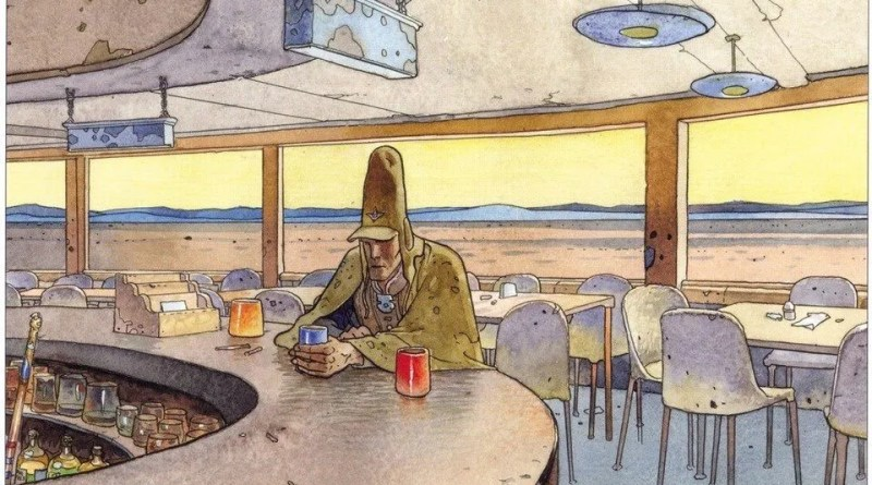 Long time waiting: the work of Mœbius is to be re-published in English at long last, by Dark Horse