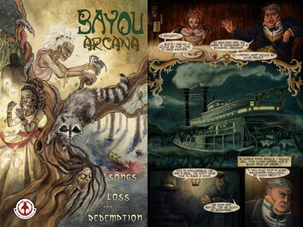 Bayou Arcana Cover and Promises