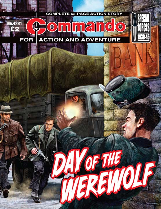 Commando 4861 – Day Of The Werewolf
