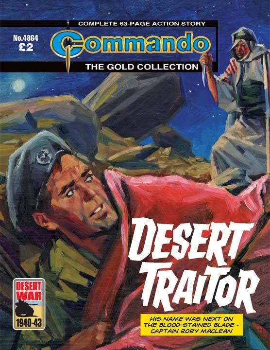 Commando No 4864 – Desert Traitor