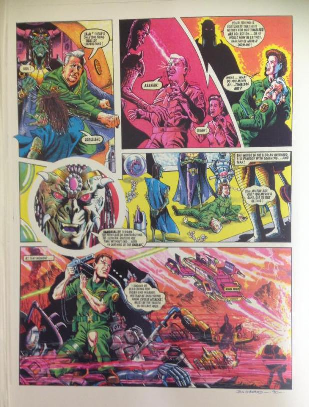 Dan Dare by Jon Haward