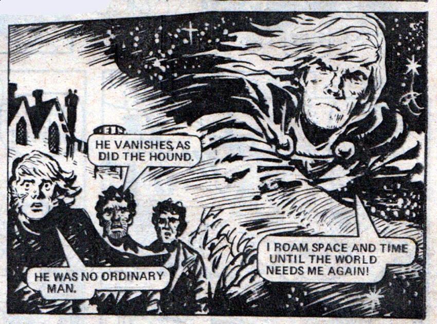 Great British Comic Characters Reinvented: Adam Eterno
