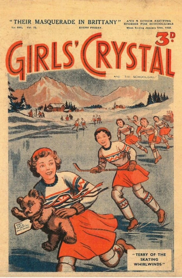 Girls' Crystal - Cover Dated 19th January 1952