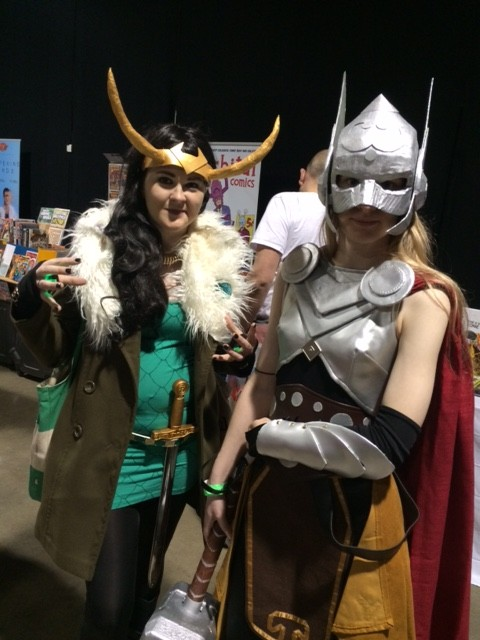 Cosplayers at Thought Bubble. Photo: Tony Esmond