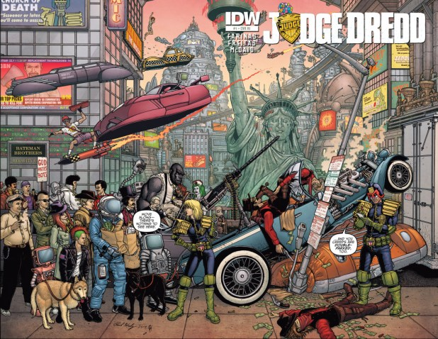 Judge Dredd Mega-City Zero #1 - Retailer Incentive Cover by Paul Hanley