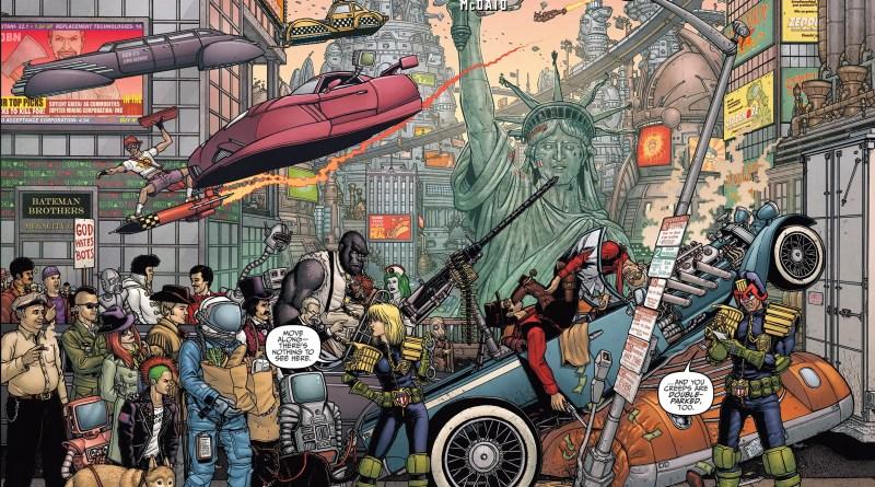 Judge Dredd Mega-City Zero #1 - Retailer Incentive Cover by Paul Hanley