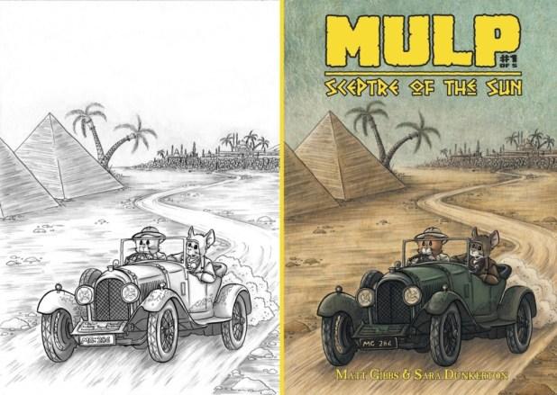 MULP 1 Cover Pencils