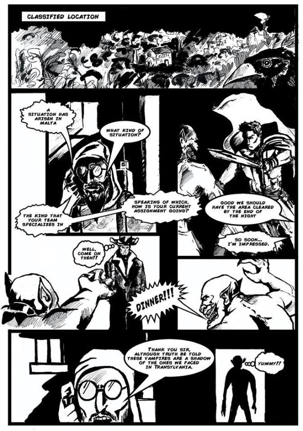 S.T.EA.M. - Island Under Siege #1 - Sample 1