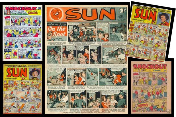 Sun and Knockout comics