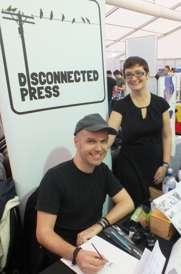 Thought Bubble 2015 d Disconnected Press Conor Lizzie Boyle