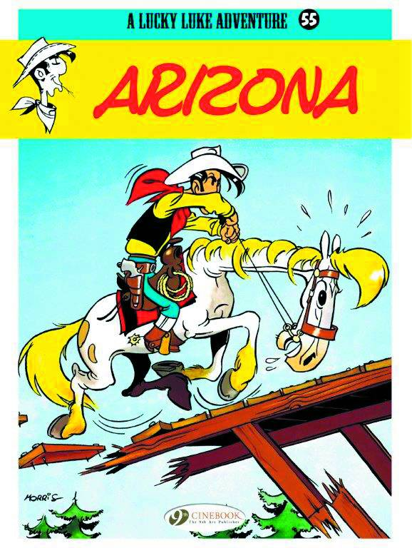 Lucky Luke Trade Paperback Volume 55: Arizona