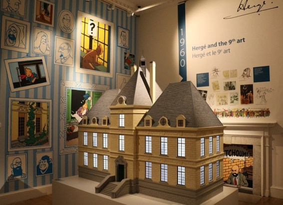 Marlinspike Hall Model. Image: Somerset House