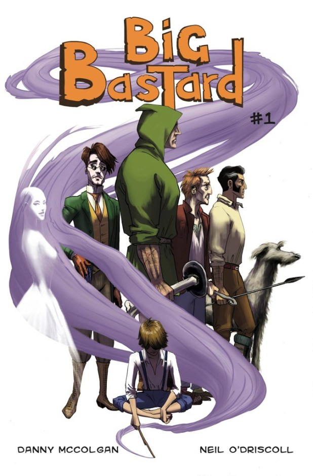Big Bastard #1 - Cover