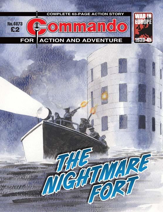 Commando No 4873 – The Nightmare Fort