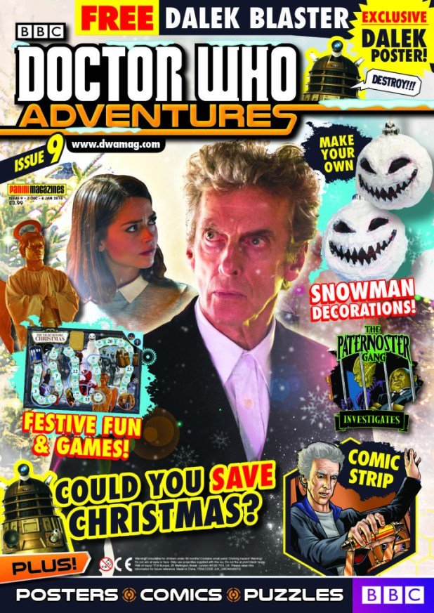 Doctor Who Adventures Issue 9 - Cover