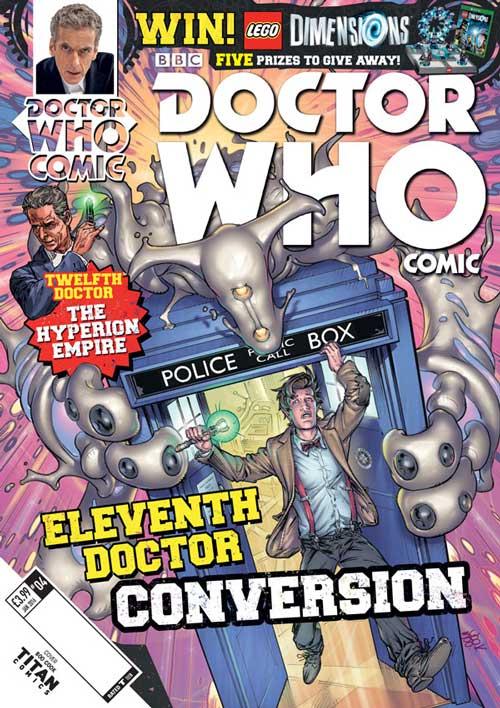 Doctor Who Comic Year 2 #4 UK