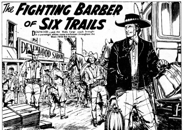 "The Hotspur: ""Fighting Barber of Six Trails"""