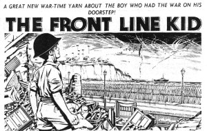"""Hotspur Issue 85: """"The Front Line Kid"""""""