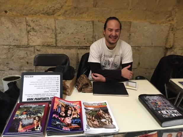 Malta Comic Con 2015: Dean Fenech