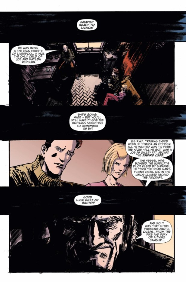 Johnny Red #2 - Preview Page 1