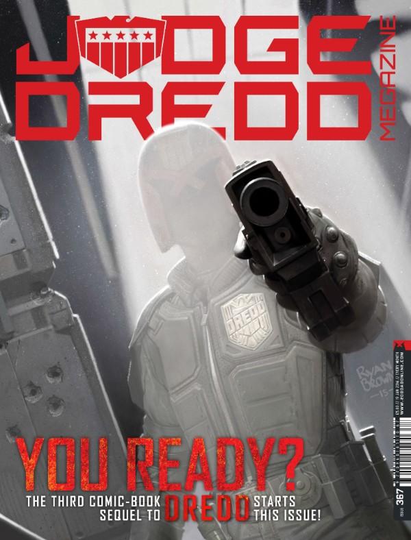 Judge Dredd Megazine 367