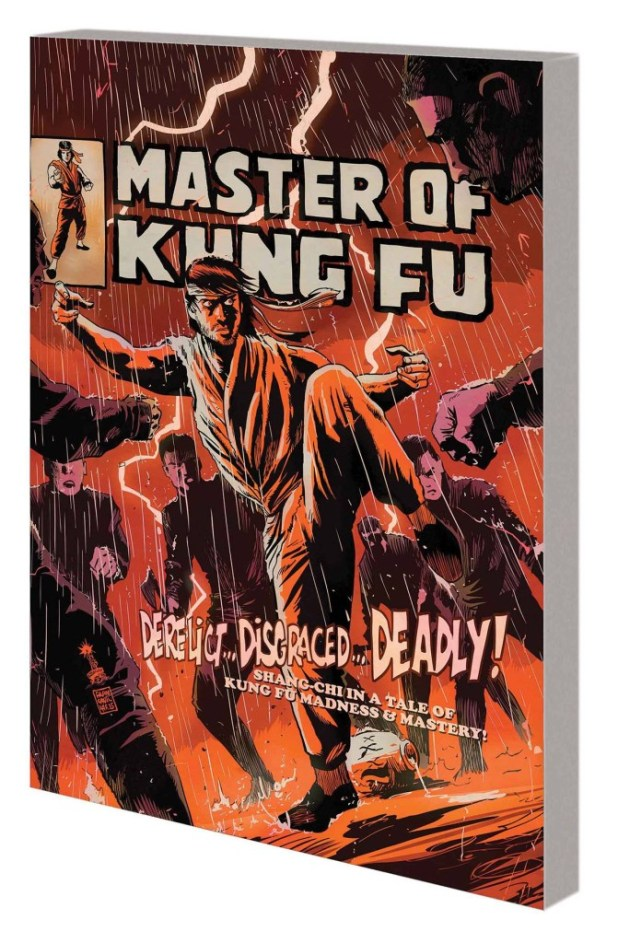 Master Of Kung Fu Trade Paperback: Battleworld