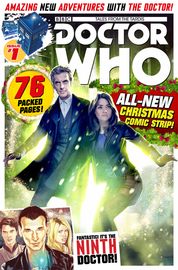 Doctor Who: Tales from the TARDIS #1 - Cover