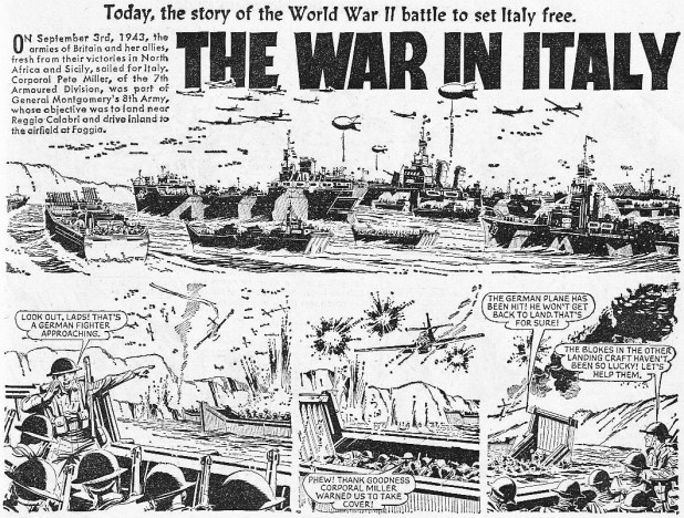 "The Hotspur 351: ""The War In Italy"""