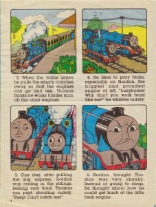 Thomas The Tank Engine and Friends (Marvel UK edition)