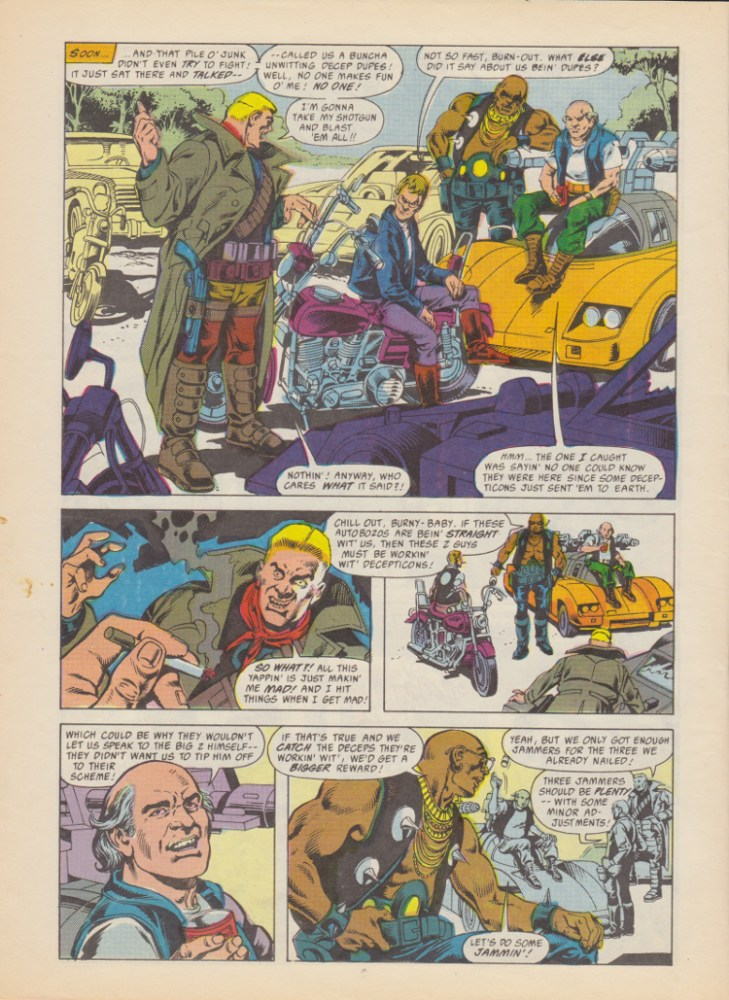Transformers Issue 192 - Jammers