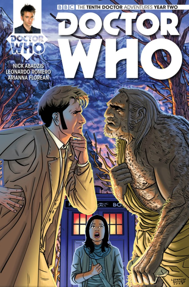 Doctor Who: The Tenth Doctor: Year Two #4