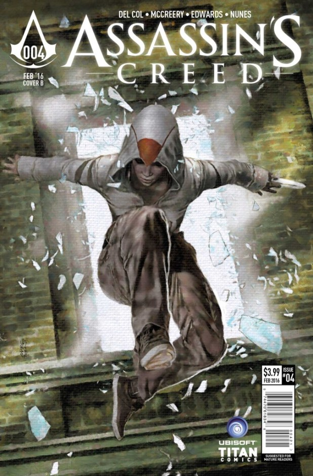 Assassin's Creed #4 Cover B by Marco Turini