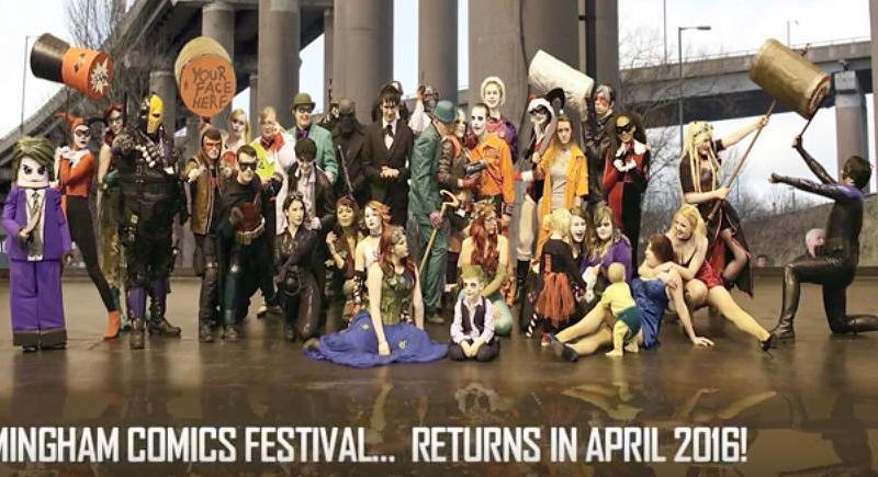 Birmingham Comic Festival Promo