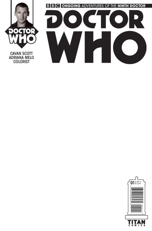 Doctor Who: The Ninth Doctor #1 Ongoiing Blank Cover