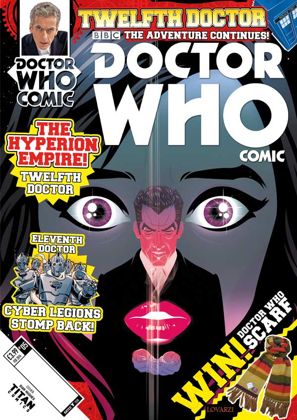 Doctor Who Comic 2.5 - Cover