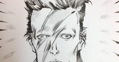 David Bowie by Boo Cook