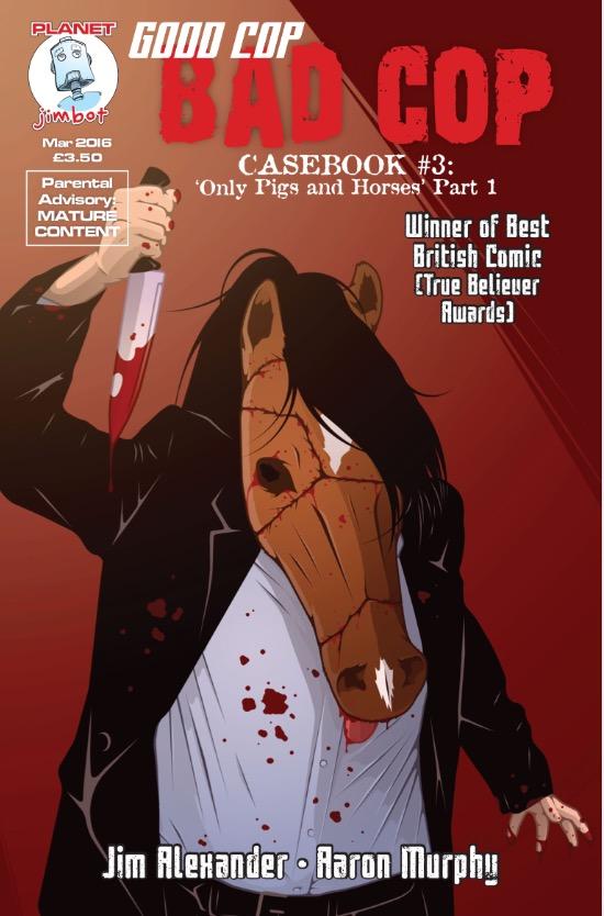 Good Cop, Bad Cop: Casebook 3 - Cover