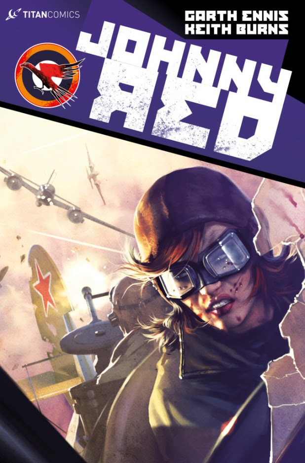 Johnny Red #3 - Cover B by Alex Ronald