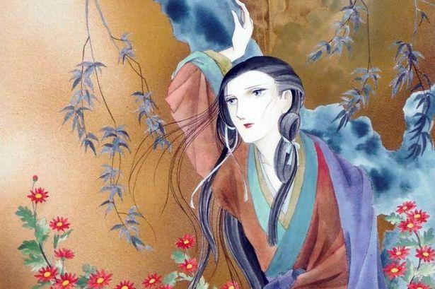 Yukiko Kai - Kikka no Tayori (The Chrysanthemum Letter). Art by and © Keiko Takemiya