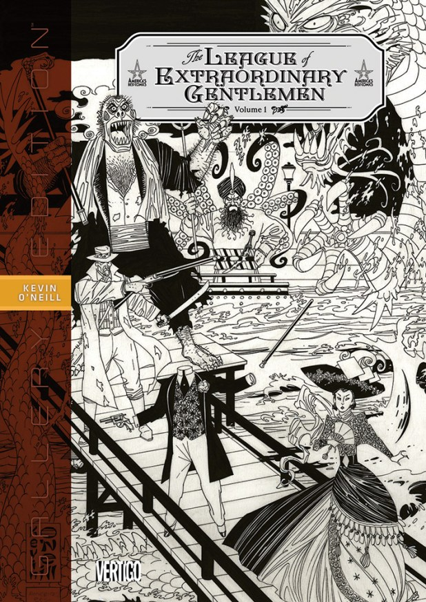 League Of Extraordinary Gentlemen Gallery Edition Hard Cover