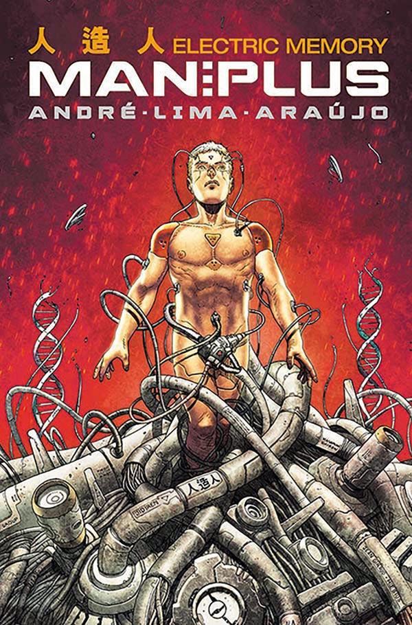 Man Plus #1 Cover A By André Lima Araújo