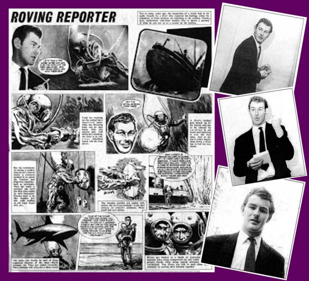 """The Roving Reporter"" and Peter Stephens' Reference Shots"