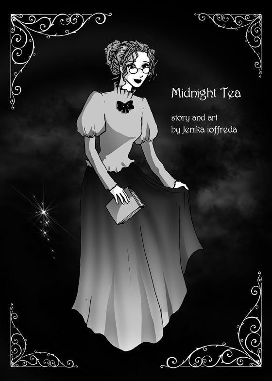 Midnight Tea - Interior Front Cover
