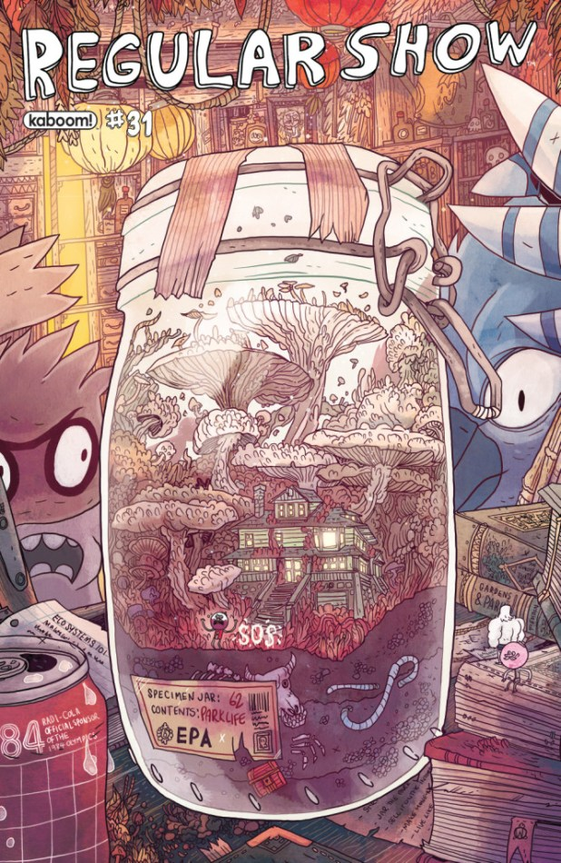 The Regular Show #31 - Subscription Cover