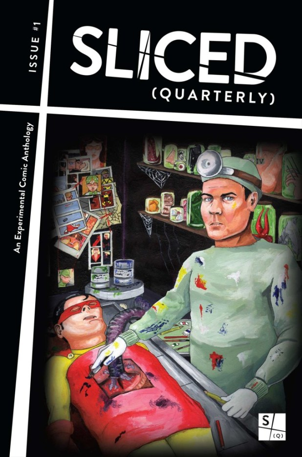 Sliced Quarterly #1 - Cover