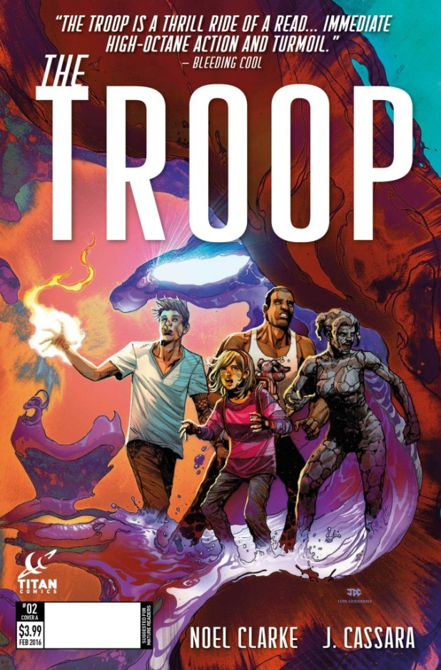 The Troop #2 Cover A by Joshua Cassara