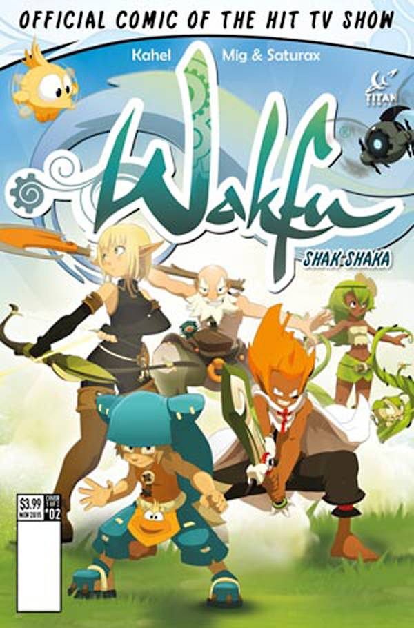 Wakfu #2 - Regular Cover