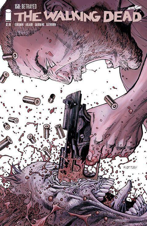 Walking Dead #150 Cover E